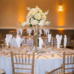 Luxury centerpiece floral decor for wedding in greensboro nc