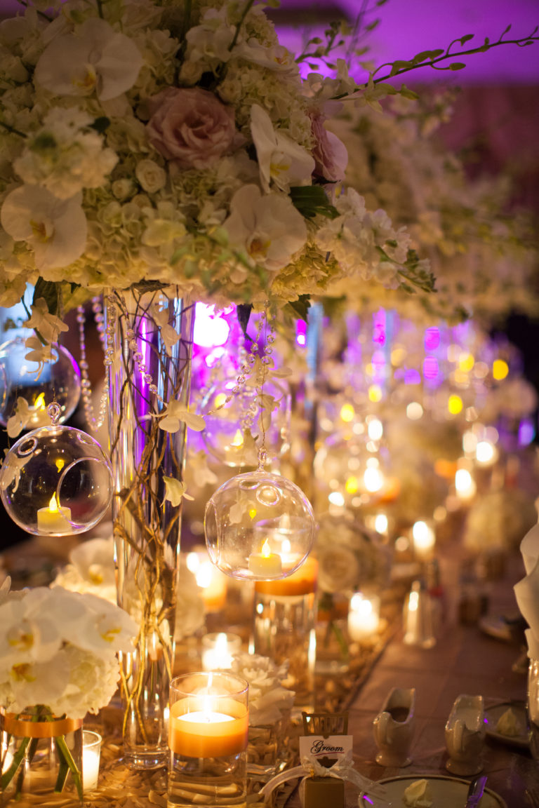 Wedding centerpiece by Eliana Nunes Floral Design