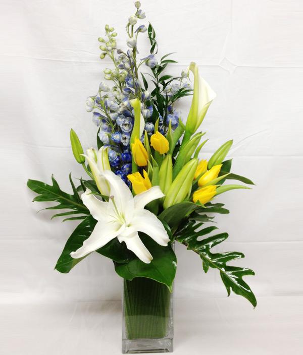 New Baby Modern Flowers Florist In Winston Salem Nc Enfd